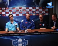 Press Conference before THW Kiel