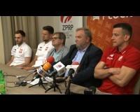 Konferencja prasowa Reprezentacji Polski